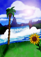 Green Hill Zone : Forenoon [2014] by Light-Rock