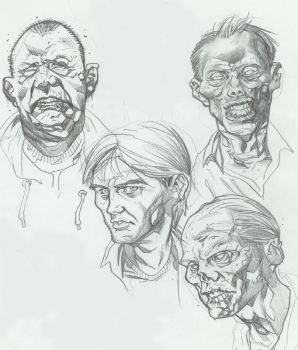 Zombies by Redmasker