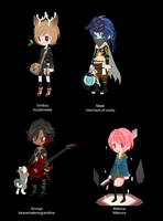 100 Themes - Selfy Fashion Adopts - Adopted by Feralx1