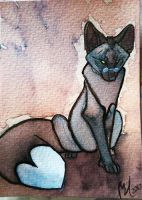 ACEO - AtF Cast - Profox by Quoosa