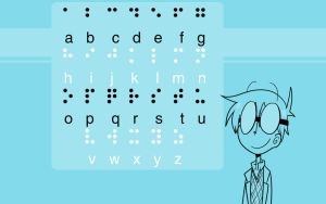 Basic Braille Chart by kurisquare