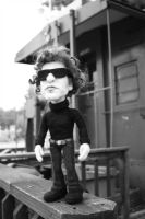 Needle Felted Bob Dylan Doll by FeltAlive
