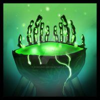 GW Icon: Offering of Blood by Ikimono1