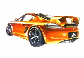 Car MARKER RENDERED by kago-woo