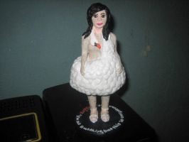 Ceramic Bjork Sculpture by whore-of-troy