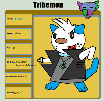 Tribemon Application - Oscar by OshawottsRule95