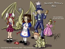 NOT American McGees Alice by mette-miko