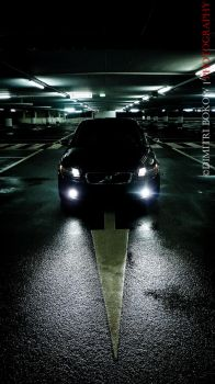 Volvo C30 in the car park by DimitriBokowPhoto