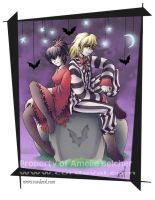 Beetlejuice and Lydia by Amelie-ami-chan