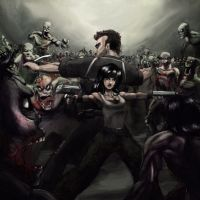 Zombie survival by shurita
