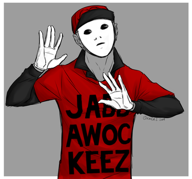 Jabbawockeez Freeze by Kay-Love