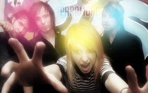 .Paramore. -Wallpaper- by yorukiyo