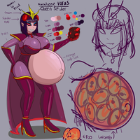 Impregnating Spider Queen Reference 1 by Metalforever