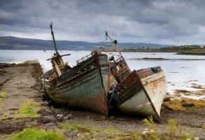 Old Boats-Isle of Mull by DamianKane