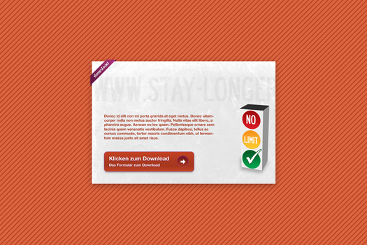 Stay-Longer Splash Page by FleX177