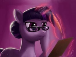 Therapist Twilight Sparkle by Raikoh-illust