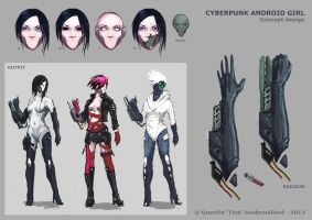 Android girl concept by Tink29