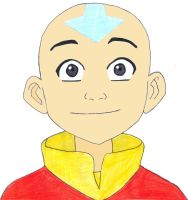 Book 1 Aang by fifthknown