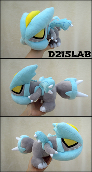 Kyurem Plush by d215lab