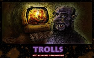 Troll de Internet by GuilhermeBriggs
