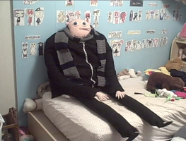 My life sized Gru plushie 8D by PlushBuddies