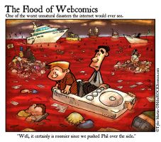Flood of Webcomics by TylerMartin