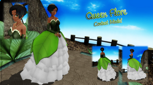 [MMD CONTEST] Queen Flore [DL] by NyaLinaa