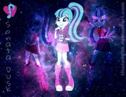 Sonata Dusk Galaxy Wallpaper by TicciElly38