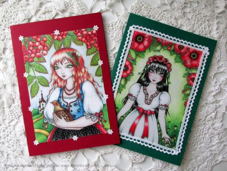 Summer Card Project by MoonlightPrincess