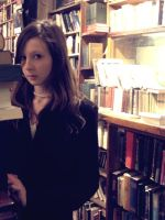 In the bookshop by floratatouille