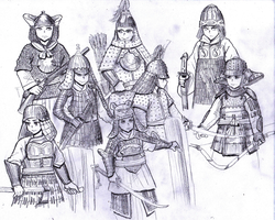 Asian Dynasties by ptdtch