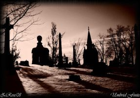 Cemetery Scenes:A Falling Star by UmbrielThouArt