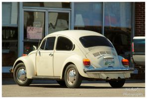 A White VW Bug by TheMan268