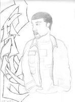 my old Kanye addiction pic by Tsuchie92