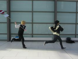 You better run Izaya! by CelticCosplay