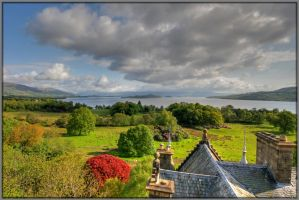 Loch Lomond from Rooftop by Rebacan