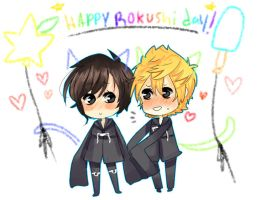 Happy Rokushi Day Nerds by AppeI