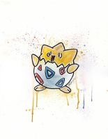Togepi by LukeFielding