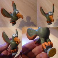 Squawks Figurine by Jelle-C