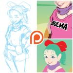 Bulma - preview by theCHAMBA