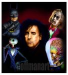 Tim Burton colored by choffman36