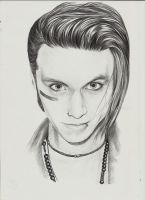 Andy Biersack by YourBloodDay