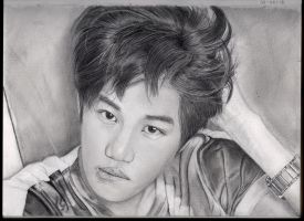 Kai Of Exo by GabbeyMarie