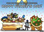 A Smashing Father's Day by Dragonith