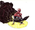 Superior Spiderman mark up by CRISTIAN-SANTOS