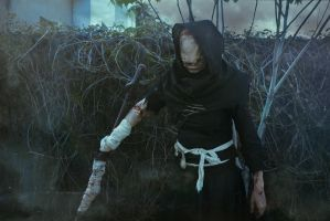 The Caretaker Cosplay from The Witcher 3 by elenasamko