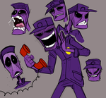 The Purple Guy by Mickeymonster
