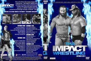 TNA Impact Wrestling October 2013 DVD Cover by Chirantha