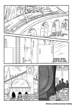 Engine 999 Webcomic Series - CH1PG2 by Tailzkip