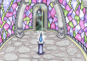 Room With Stone Heart by Notecja